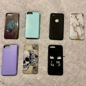 Accessories - Seven iPhone 8S cases
